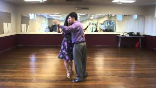 Club de Tango Workshop Demonstration 2