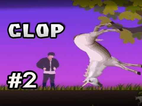 CLOP UNICORN QWOP w/Nova Ep.2 - LAME HORSE IS LAME