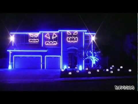 Halloween Light Show &#8211; prekrasno