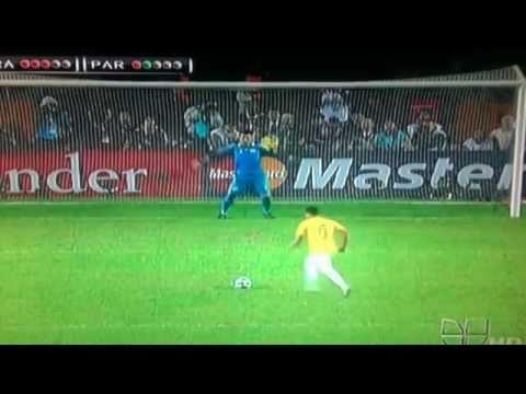 Brasil vs Paraguay.(PENALES COPA AMERICA 2011)