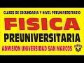 FISICA PROBLEMAS RESUELTOS SAN MARCOS ADMISION 2016