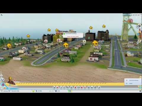 Zzar Plays Sim City #2 - Speed building mining town