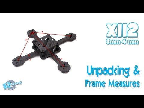 X112 112MM X Type Mini Racing Frame Kit with 3MM 4MM - UCv2D074JIyQEXdjK17SmREQ
