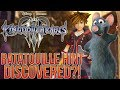Kingdom Hearts 3 - Has Evidence of Ratatouille Been Discovered?!