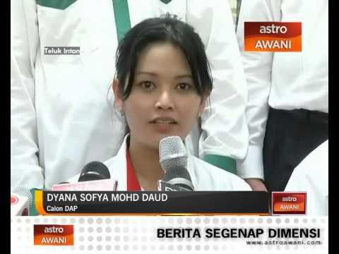 Dyana Sofya sedia berkhidmat di Teluk Intan