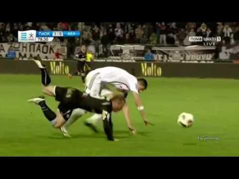PAOK LARISA 1-0 (OLES OI FASEIS DAY 28 3/4/2011)