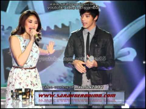Sarah Geronimo and Daniel Padilla - Hinahanap-hanap Kita OFFCAM (01Jul12)