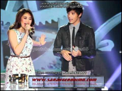 Sarah Geronimo and Daniel Padilla - Hinahanap-hanap Kita OFFCAM (01Jul12)