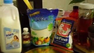 como hacer helado de vainilla casero(loquendo)