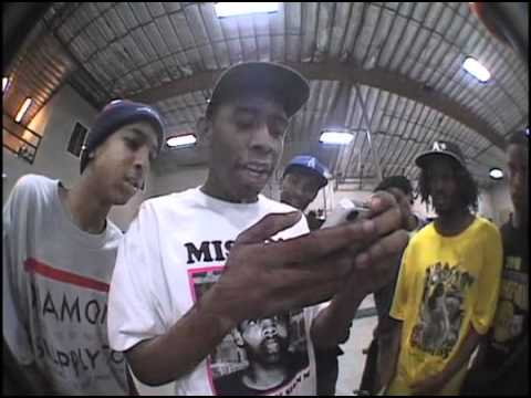 Text Yoself Beefo Yo Wreck Yoself; Odd Future x The Berrics