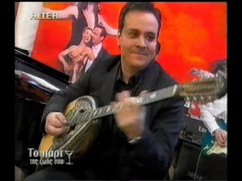 "solo bouzouki ""blue eyes"" extrem speed by nikos georgopoulos"