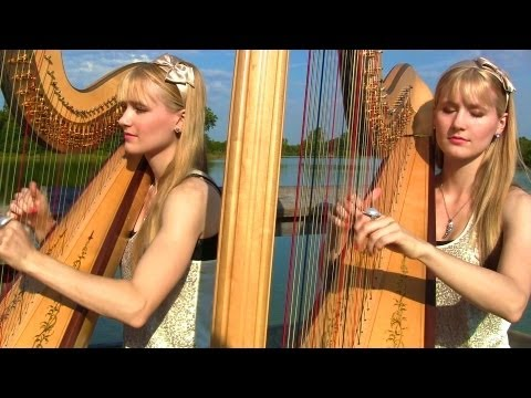 Mine - Taylor Swift Harp Duet - Camille and Kennerly, Harp Twins