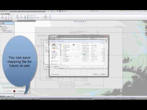 SolidWorks Drawings - DWG/DXF Layer Mapping