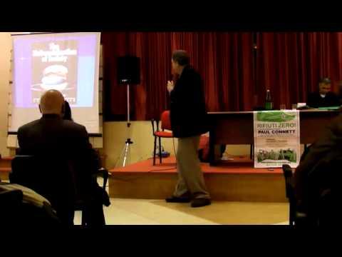 """Paul Connett in Calabria - """"Rifiuti zero"""" - Vibo Marina 18-01-2011 - 1/4"""
