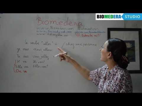 Bài 32: Cách sử dụng động từ Aller trong tiếng Pháp - Le verbe