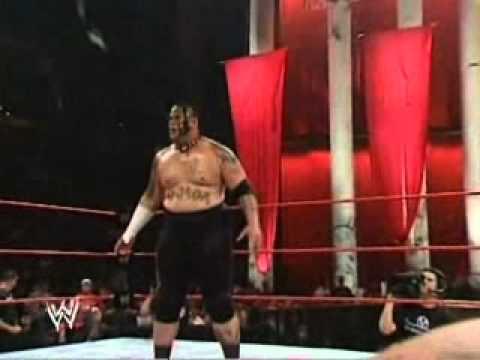 Santino Marella vs Umaga - Vengeance 2007 - For the Intercontinental Championship