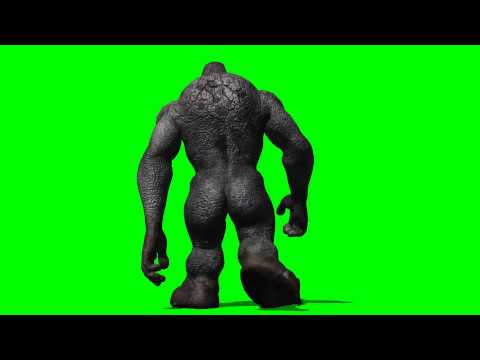 Troll walk - green screen effects -UqSqI3Rqjqo