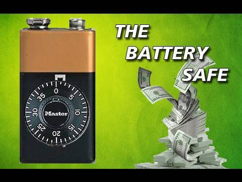 Secret Battery Safe