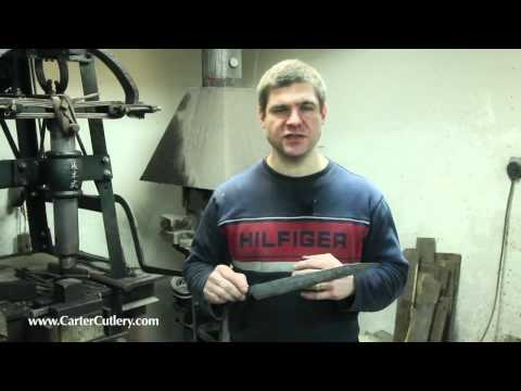 Murray Carter - Forging a Japanese Sashimi Knife