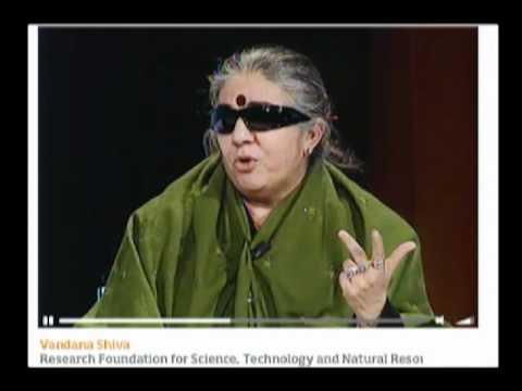 Vandana Shiva * Ogm e Biotecnologie in agricoltura