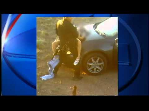 Police Officer Fired For Getting Busy With A Girl On His Car *GRAPHIC PHOTO*