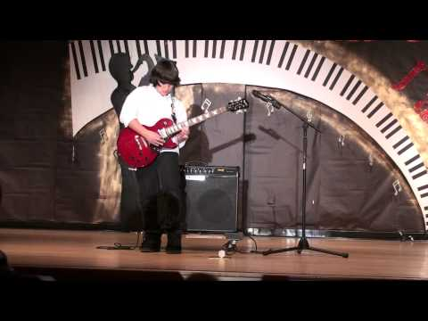 Best Guitar Solo Ever by 5th Grader Stefanos (Eruption - Eddie Van Halen)
