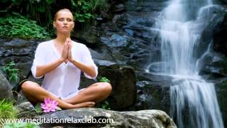 Japanese Meditation Music | Zen Relaxing Water Sounds and Deep Meditation Music