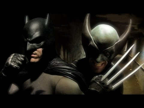 BATMAN vs WOLVERINE - Super Power Beat Down