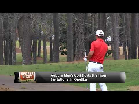 Auburn men's golf hosts the Tiger Invitational and the Robert Trent Jones Golf Trail in Opelika.