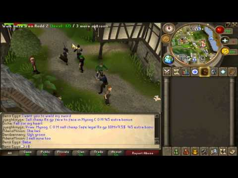 Runescape - Attempting to get the RS Babes - With Funny Commentary!