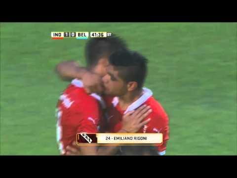 Rigoni le dio el triunfo a Independiente