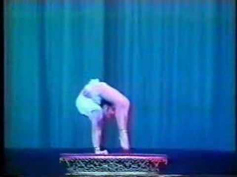 bendy flexible chinese acrobat