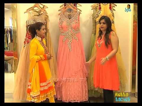 Hello Ladies - Latest Designer Dress - Part-1   Vanitha TV