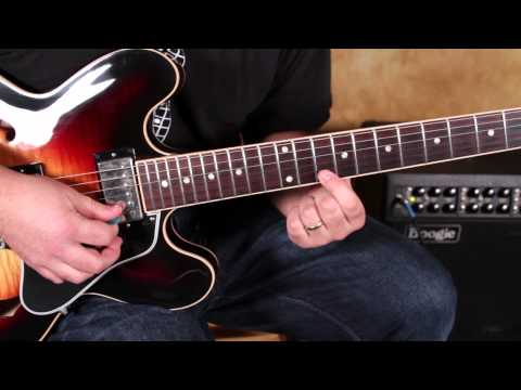 How to Play Fast Blues Licks on guitar a la Stevie Ray Vaughan and Joe Bonamassa