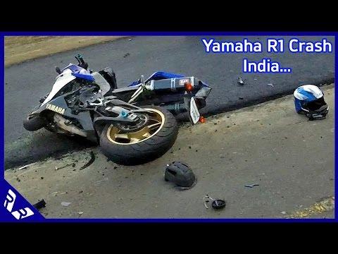 Yamaha YZF-R1 Crash in Chennai India 2 killed! important safety message