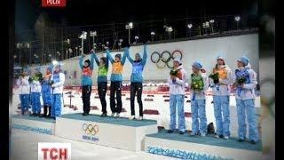 «Золотые» биатлонистки посвятили свою победу народу Украины