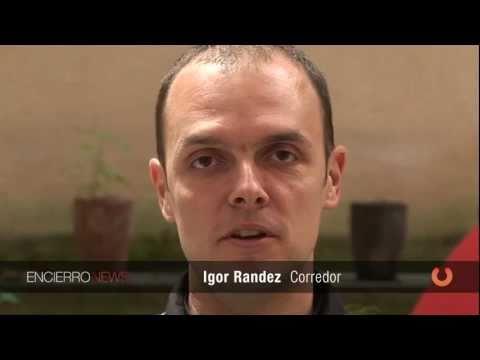 Igor Randez ¿qué sientes en el Encierro?