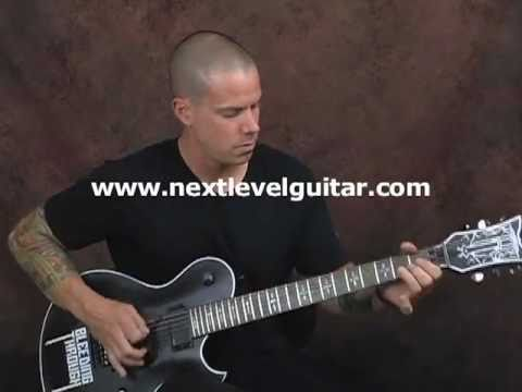 Learn Eddie Van Halen style rock guitar lesson on tapping slides n whammy bar tricks