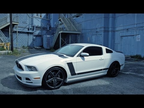 "Ford Mustang Boss 302 on 20"" Vossen VVS-CV5 Concave Wheels / Rims"