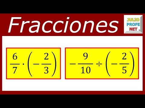 Operaciones con Fraccionarios