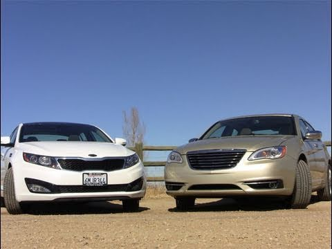 2011 KIA Optima EX vs. 2011 Chrysler 200 car quirks review