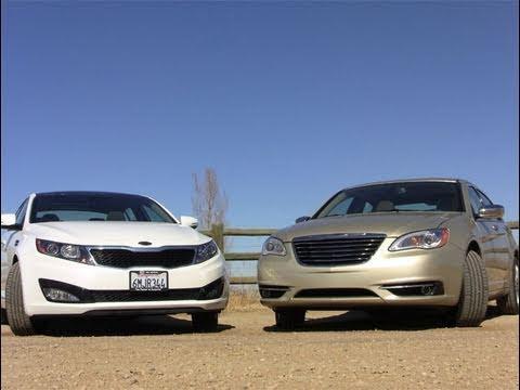 2011 KIA Optima EX vs. 2011 Chrysler 200 car quirks review