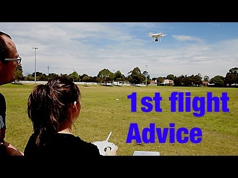 DJI Drone - First Flight Advice
