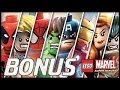 Zagrajmy w LEGO MARVEL Super Heroes - Wszystkie Postacie i Pojazdy - 100% - Koniec Serii