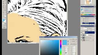 Photo to cartoon to pop art tutorial in photoshop