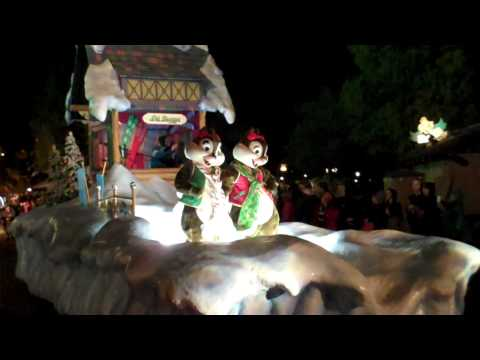 WDW Magic Kingdom Mickey's Once Upon a Christmastime Parade 2010