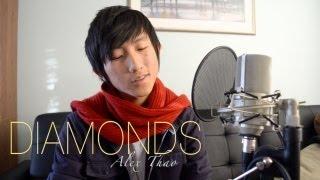 """Diamonds - Rihanna"" cover by Alex Thao"