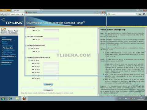 2-Parte Configuracion del Access Point Wifi Tplink en modo cliente - Window 7 Seven
