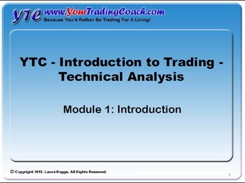 YTC Intro to Technical Analysis (Module 1) - Introduction
