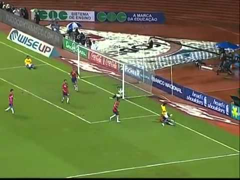 Costa Rica 0 x 1 Brasil - Gols e Lances - Amistoso - 08/10/2011